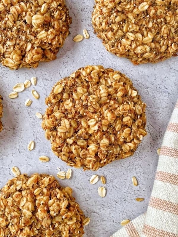 Simple Oatmeal Protein Cookies The Oregon Dietitian